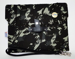 Bolsa Geek Case (Porta Tablet) Camuflada