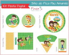 Kit Festa Digital S�tio Pica Pau Amarelo