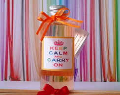 Difusor KEEP CALM AND CARRY ON - 60ml