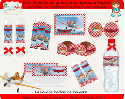 Kit de guloseimas Avi�es Disney digital