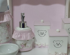 Kit Higiene Urso Manoela com frasco gel