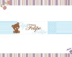 L�pis Personalizado Ursinho azul