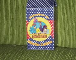 Caixa de Leite Galinha Pintadinha
