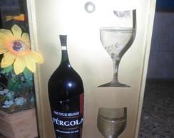 Caixa porta vinho
