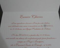 Convite de Anivers�rio 60 Anos