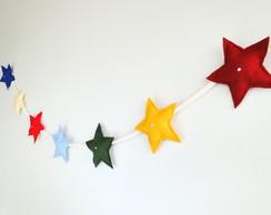 Estrelas no Varal Festa Decora��o Chic