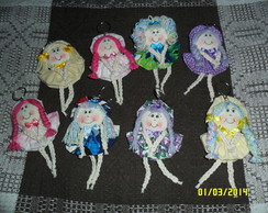 Chaveiros de boneca