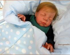 Saco de Dormir Bolinhas - Azul