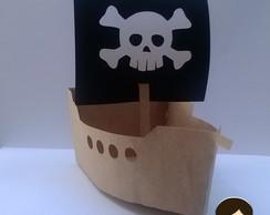 CM2 - Centro de Mesa Barco Pirata