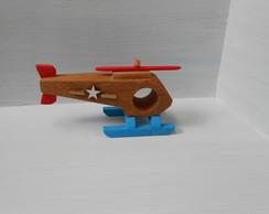 Helic�ptero De Madeira - Modelo Esquilo