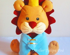 Le�o Rei Decorativo 40 cm