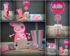 Kit Econ�mico Peppa Pig - 182 itens