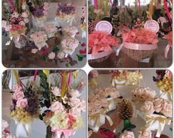 Kit festa mesa do bolo & mesa convidados