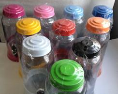 Suqueira de Vidro Colorida