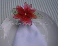 Porta_guardanapo flor de maia de seda