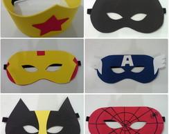 mascaras super herois eva