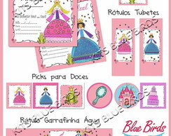 Kit Papelaria Pequenas Princesas