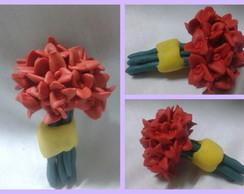 0109-Mini Buque de Flores-Vermelho
