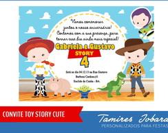 Convite Digital Toy Story