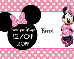Minie rosa - Save the Date