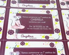 Convite Angelina