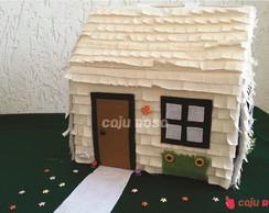Casa dos Tr�s Porquinhos - Palha