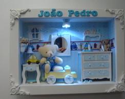 Quadro p/ Porta Maternidade c/ Led