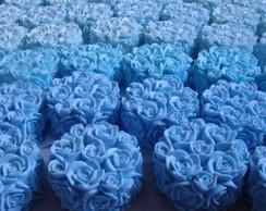 Sabonetes Bouquet de Rosas