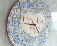 Rel�gio Azulejo Portugu�s