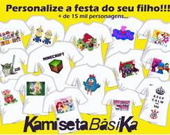 Camiseta Personalizada Festas