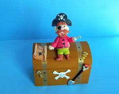 Lembrancinha em Biscuit Pirata