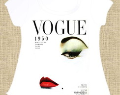 T-shirt Feminina Vogue Vintage