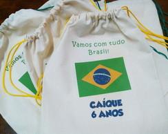 Mochila Colorida Copa - Brasil