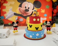 Mickey Mouse Decora��o Clean