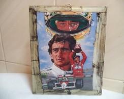 Quadro Em MDF - 22x18 cms - Senna