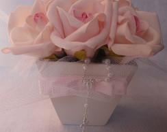 Sweet Flowers com Tule e Mini Ter�o