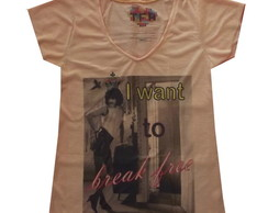 "Camiseta "" I Want to break free"""