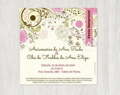 Convite Digital Para Imprimir