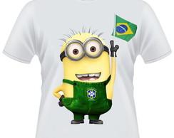 Camiseta Minions Brasil