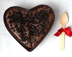 Cora��o de chocolate