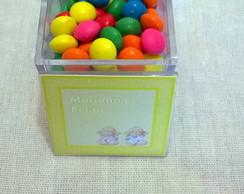 caixa acr�lica para nascimento de gemeos