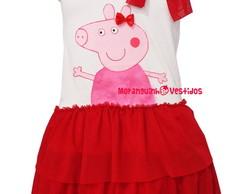 Vestido Peppa Pig - MOD. 2