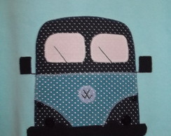 Camisetas em Patch Aplique Kombi