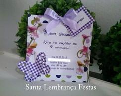 Convite Jardim Lil�s Borboleta