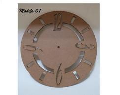 Rel�gio MDF 3mm 30cm