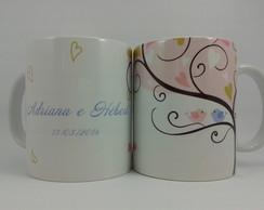 Caneca De Porcelana Personalizada MT0287
