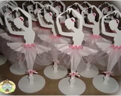 Bailarina em MDF