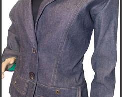 Casaqueto jeans - Tam 40 ao 46