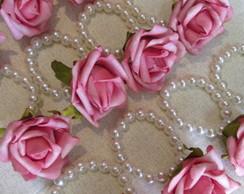 Promo��o:porta Guardanapo P�rolas&flores