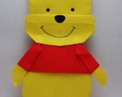 Ursinho Pooh de Origami